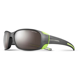 Julbo Montebianco Spectron 4 Gafas de sol, matt black/lime green-brown flash silver